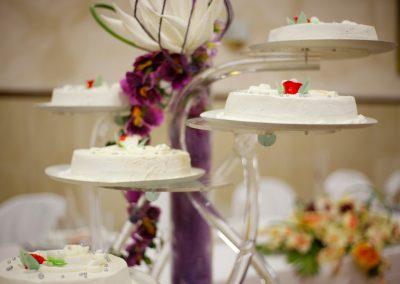 Decoracion celebraciones pastel de boda